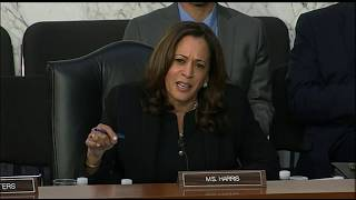 VIDEO: Calif. Senator Kamala Harris questions Facebook's Mark Zuckerberg