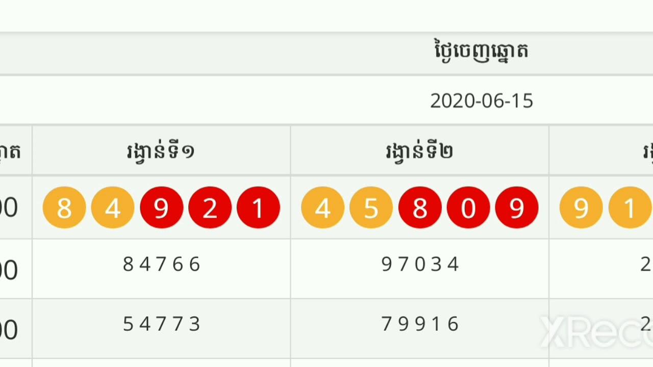 Lotto 15.06 19