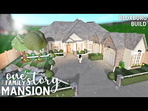 roblox-|-bloxburg-|-one-story-family-mansion