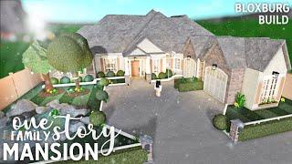 Roblox Bloxburg House 45k Tutorial 1 Story Roblox Bloxburg One Story Family Mansion Youtube