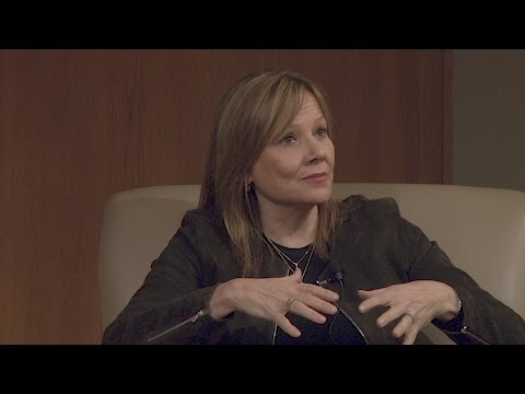 General Motors CEO Mary Barra talks about Culture in a Globa