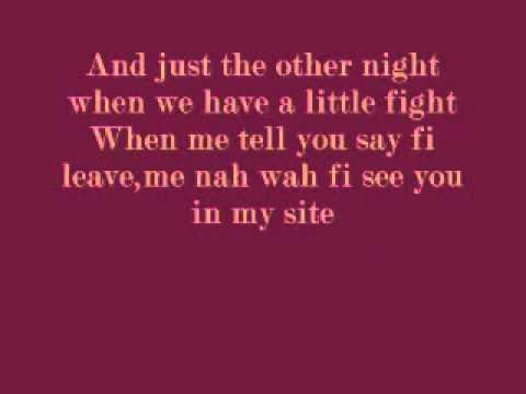 Jah Vinci (Alter Ego Riddim) - Baby Girl I'm Alone (lyrics)