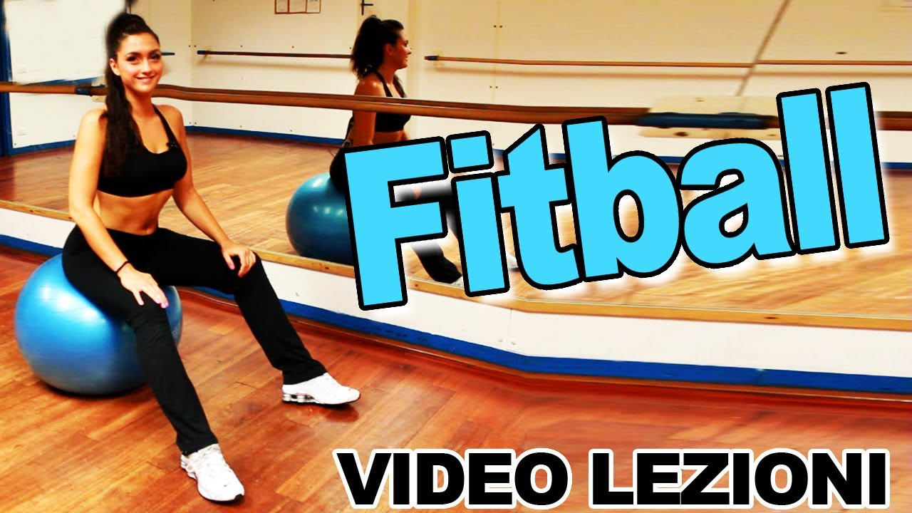 esercizi con palla pilates per perdere peso