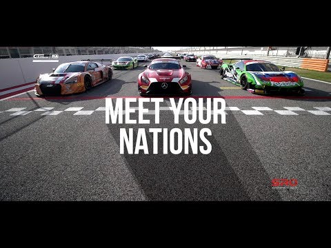 FIA GT Nations Cup - MEET YOUR NATIONS - Bahrain GT Festival 2018