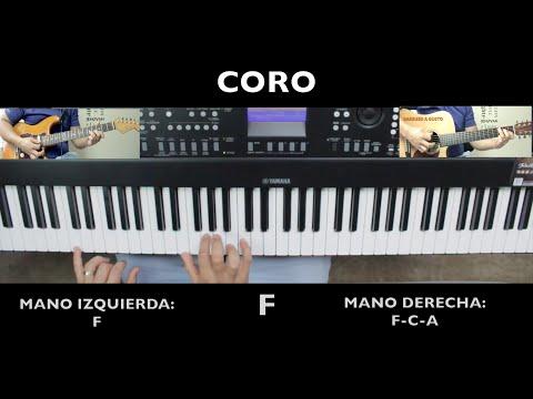 Increible Miel San Marcos Piano - Tutorial De Piano - Omarosvideo