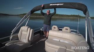 Ranger Reata 223FC Pontoon Boating Magazine Test & Review