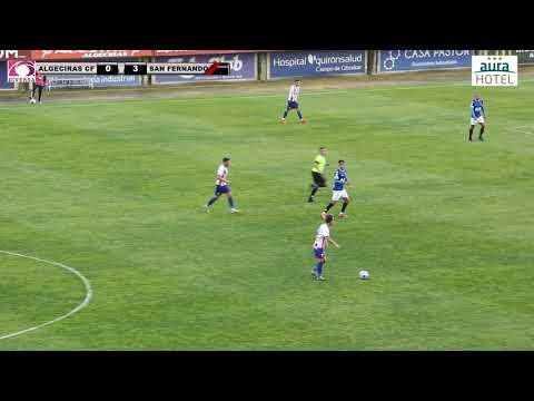 El Algeciras CF pierde el liderato tras la abultada derrota contra el San Fernando