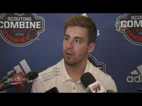 Red Wings draft prospect: Evan Bouchard terrific passer with tremendous shot