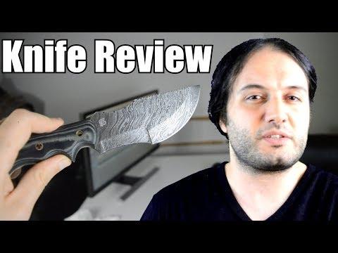 Forseti Steel Ironside Damascus Steel Knife  Review