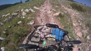 atving in big horn mountains Wyoming