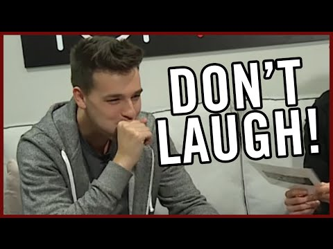 Don't Laugh Challenge w/ Jacob Whitesides on Top Five Live