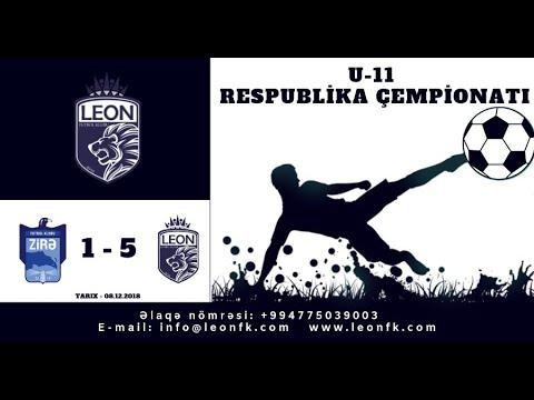 """""""U-11""""  Zirə PFK  1-5  Leon FK"""
