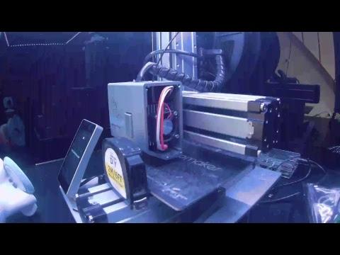 Matt Elkington 3D Printer Live Stream
