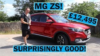 MG ZS Review - The Best Cheap SUV?!