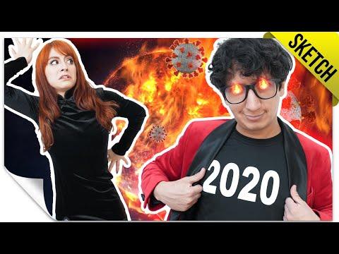 Si El 2020 Fuera Una Persona 🥂 | SKETCH