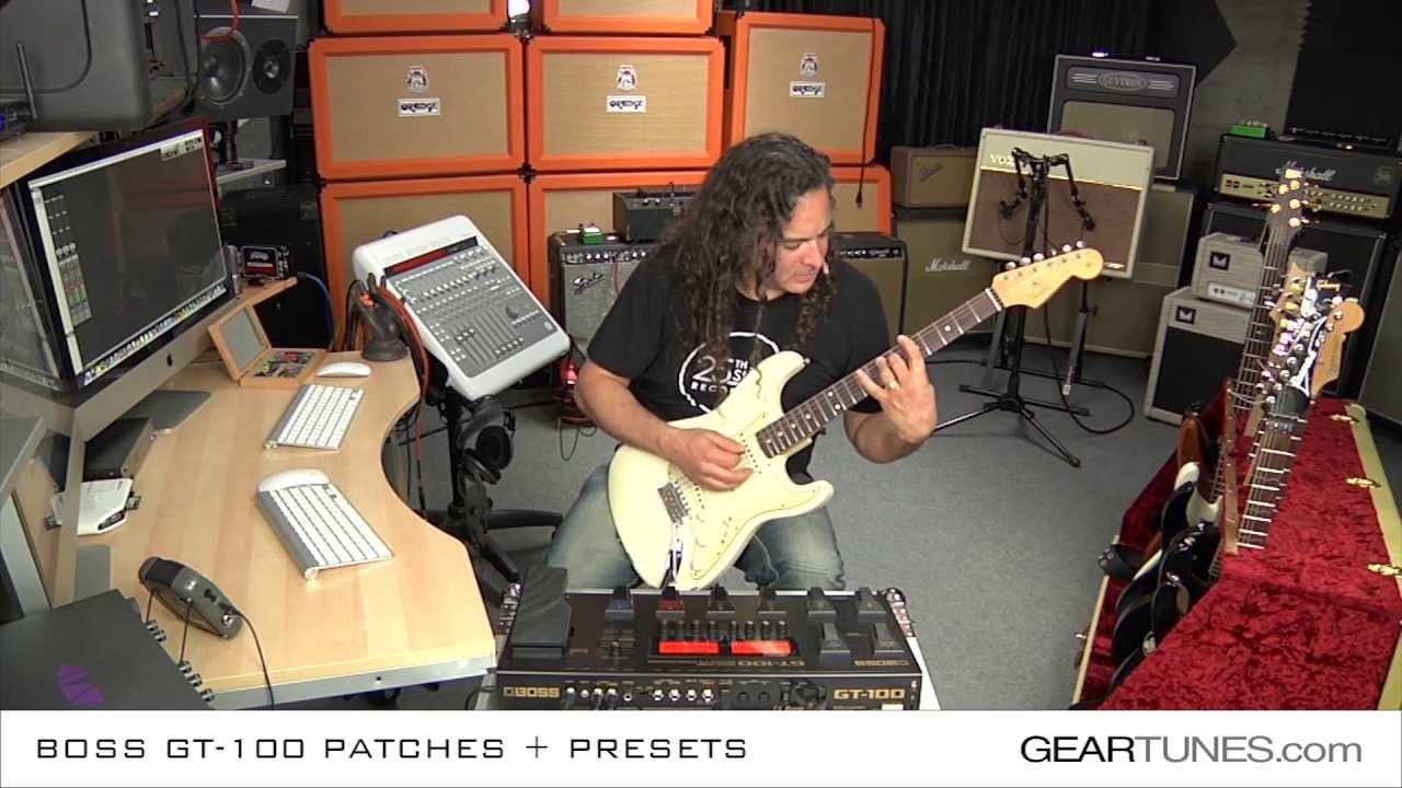 Guitar effect patches for Boss GT