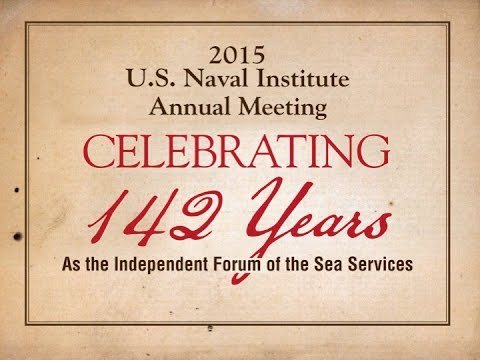 2015 Annual Meeting: Celebrating 142 Years as the Independent Forum of the Sea Services