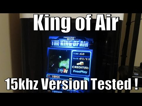 Pandoras Box 15Khz The King of Air - 51 in 1 Vertical Jamma Multi Game Board - Tested and Reviewed