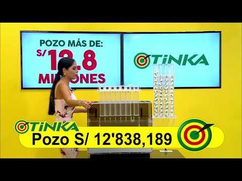 Sorteo Tinka - Miércoles 16 de mayo de 2018