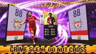 FIOLETOWY SALAH 88!!! OMG! NIESAMOWITA KARTA!   FIFA 18 ULTIMATE TEAM