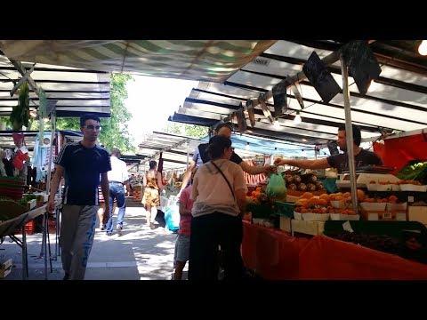 Paris:  Market in Paris, France