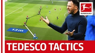 FC Schalke 04 Tactics Analysed - Lethal Wing Play
