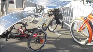 Download Art's Solar Recumbent Catrike @ SD Electric Bike Expo---Walkaround Mp3 and Videos
