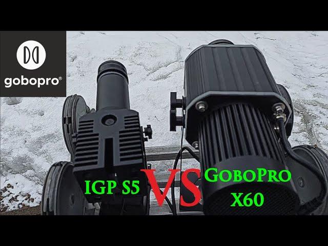 Сравнение гобо проекторов GoboPro X60 и IGP S5