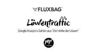 Fluxbag: Google Analytics Zahlen aus Die Höhle der Löwen