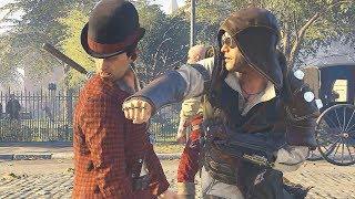 Assassin's Creed Syndicate Brass Knuckles Combat & & Templar Killing Spree