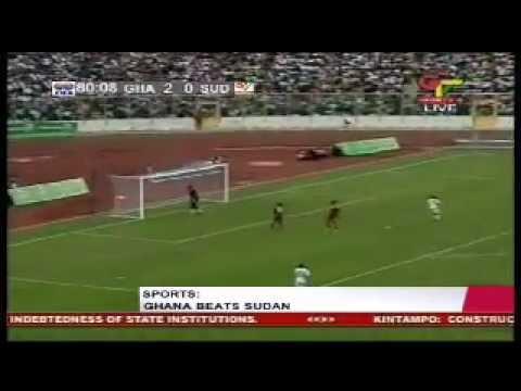 Ghana 4 - Sudan 0