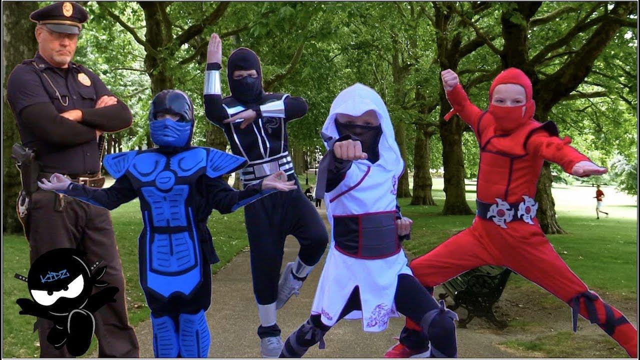 Download Ninja Kidz Feeding the Homeless. We got Chased!