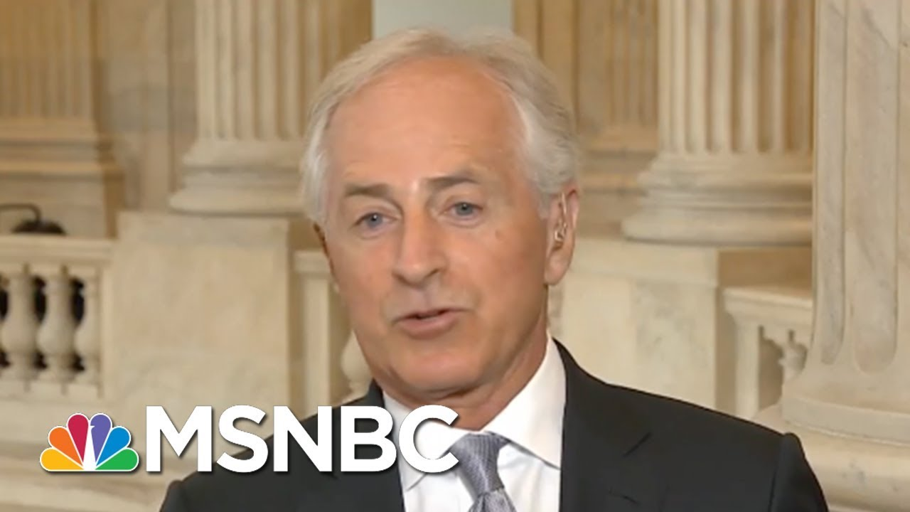 Sen. Bob Corker: My Relationship With President Donald Trump Is Not Relevant | Morning Joe | MSNBC