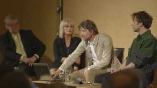 The Garden Bridge talk with Joanna Lumley, Thomas Heatherwick and Dan Pearson, chaired by Paul Morrell: In their first joint