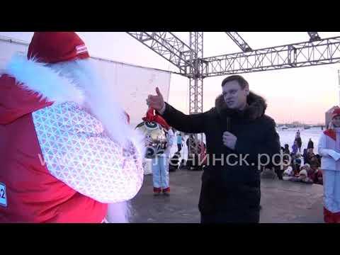 Десант «Новогоднего марафона желаний» - в Ленинске-Кузнецком