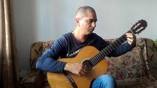 Cuban dance-Кубинский танец на гитаре