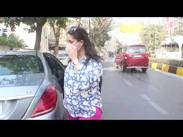 Exclusive Kareena Kapoor Khan Spotted At Juhu