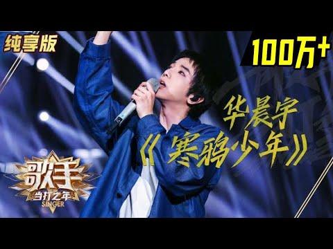 【单曲纯享】华晨宇《寒鸦少年》《歌手2020》当打之年【湖南卫视官方hd】