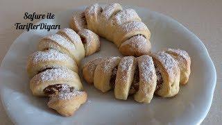 Elmalı Pastane Kurabiyesi Tarifi - Ağızda Dağılan Elmalı Kurabiye