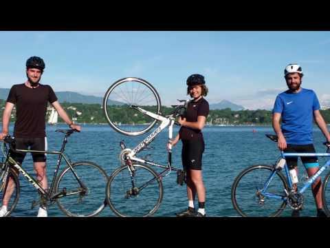 Alexis Comninos  - Cycling for a Geneva Academy Scholarship