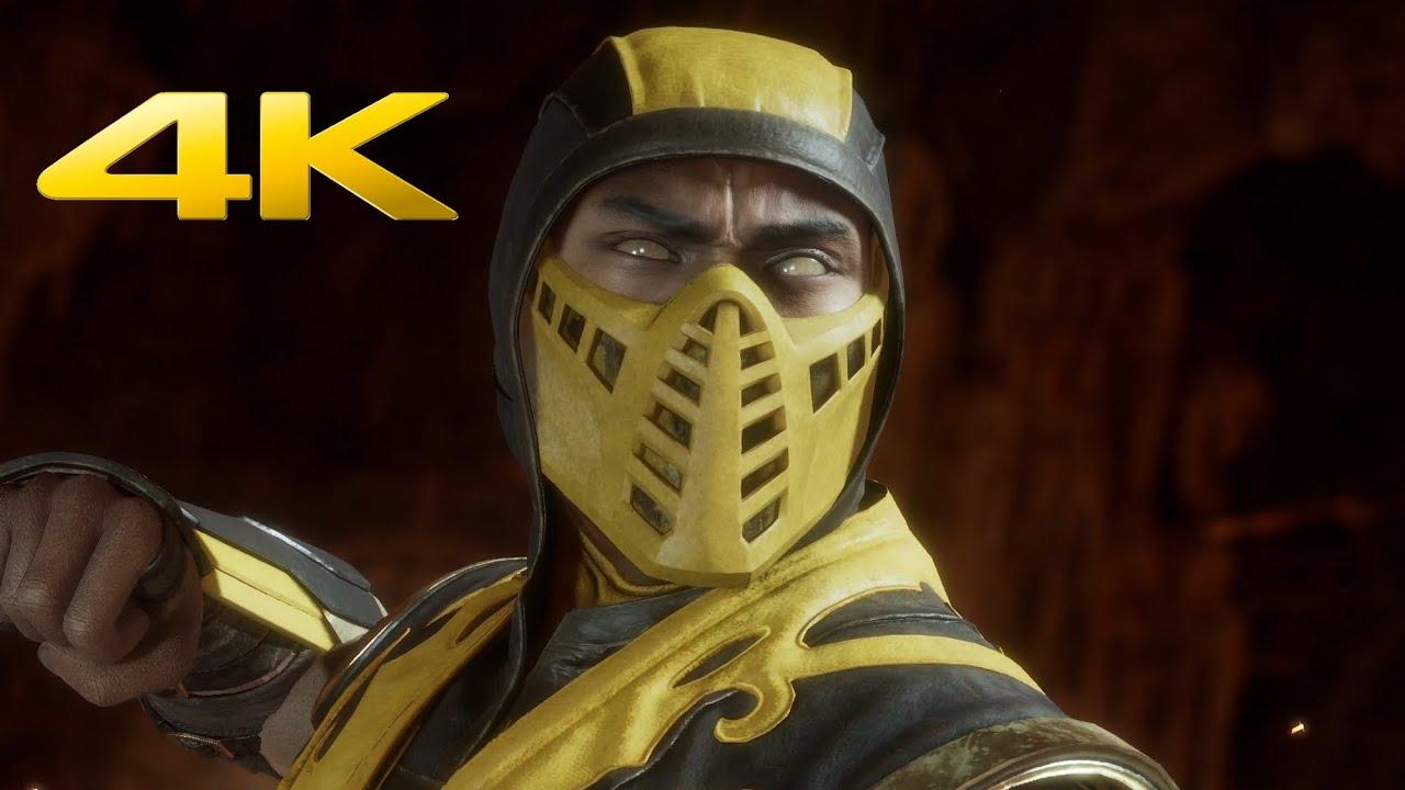 Mortal Kombat 11 - Scorpion All Fatalities, All 11 Brutalities & Fatal Blow (4K 60FPS)