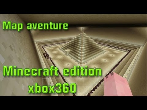 Map aventure minecraft edition xbox360 by Kyubi