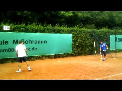 TC Blau Weiss Elberfeld Michalek Schramm Practice Part 3