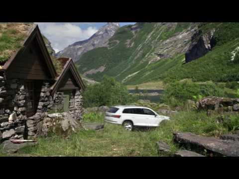 2017 Skoda Kodiaq - Driving Footage