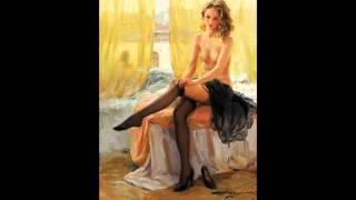 NU, эротика, эротика в живописи, художник Константин Разумов