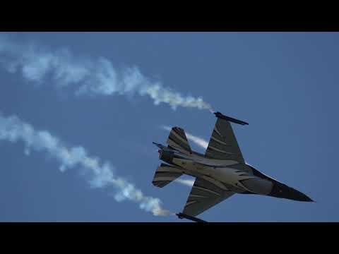 Belgian Air Force F-16 Solo Display @ Luchtmachtdagen Volkel 14-06-2019