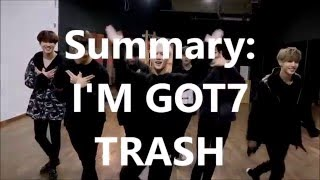 my reaction to got7 s fly dance practice fly high ver in a nutshell