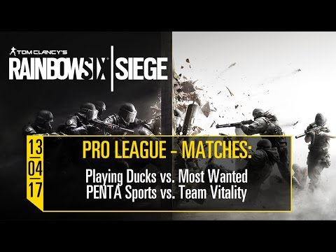 Pro League - 13.04.2017 - Tom Clancy's Rainbow 6 Siege [DE] | UbisoftLIVE