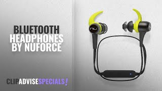 Top 5 Nuforce Bluetooth Headphones [2018]: Optoma NuForce BESPORT3-GUNMETAL BE Sport3 Wireless