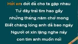 Mai Mai Karaoke - Lam Trường - CaoCuongPro